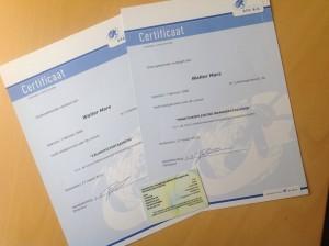 Certificaten ADR